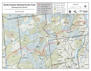 The Plan for the North Country National Scenic Trail in the Adirondack Park