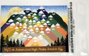 High Peaks sticker image