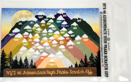 Image of 46 high peaks scratch-off card