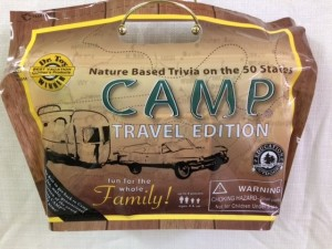Camp Travel Game