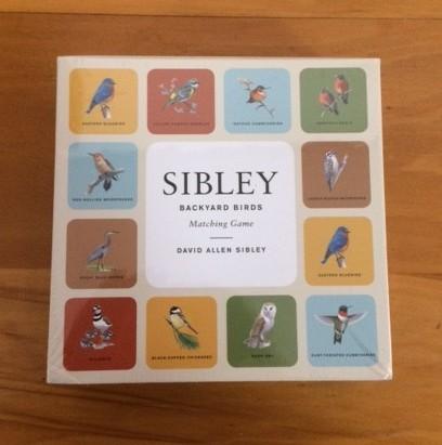Sibley Backyard Birds Matching Game - Front