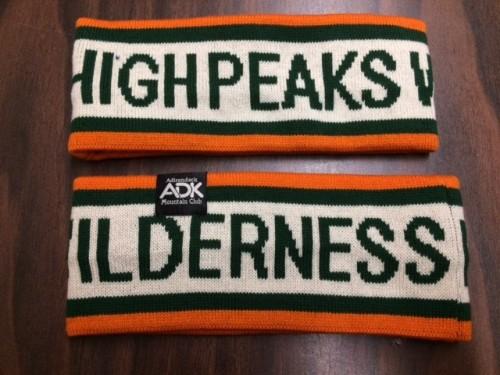 High Peaks Wilderness knit headband