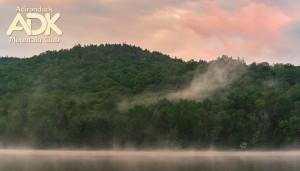 Sunrise of Heart Lake
