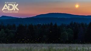 Sunset of Adirondack loj Rd