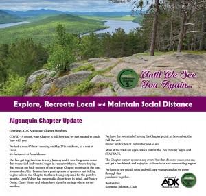 Algonquin Chapter Update