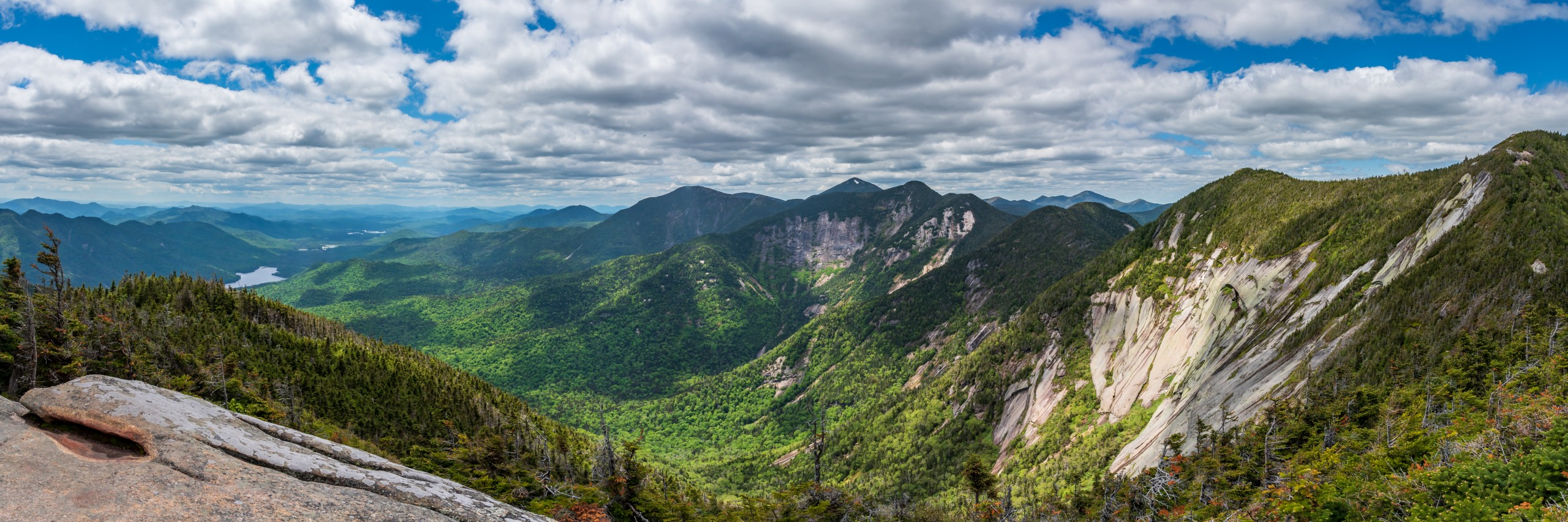 A panorama of the Great Range