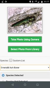 A screenshot of an app