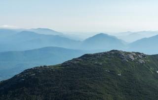 A mountain summit