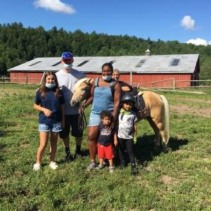 family on a farm
