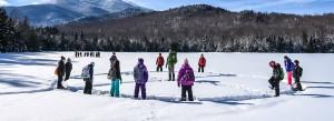 Three Seasons Kids in Snow