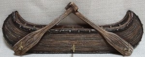 Canoe key rack