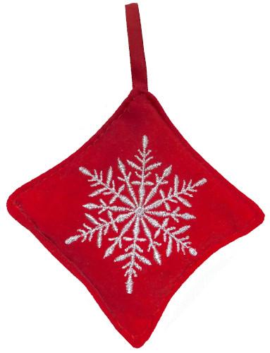 Balsam snowflake ornament