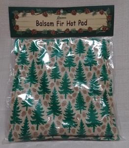 Balsam Fir Hot Pad