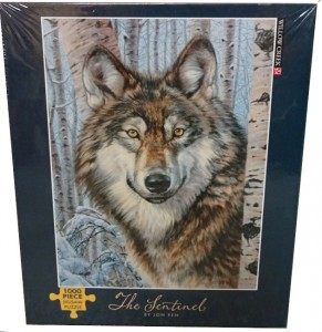 Image of wolf jigsaw puzzle