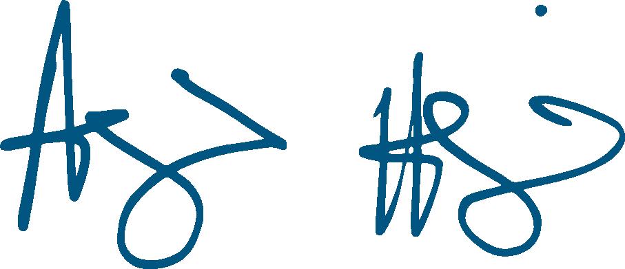 Andrew Hamlin's signature