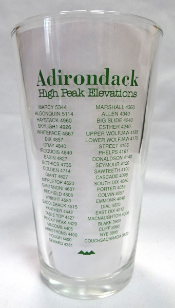 Image of back of pint glass