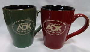 Image of ceramic mugs with ADK logo