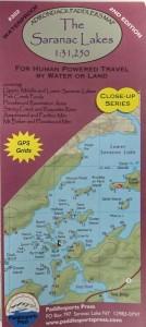 Image of The Saranac Lakes map