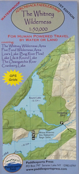 Image of Whitney Wilderness map