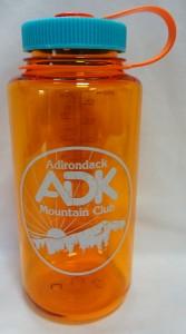 Image of clementine orange Nalgene bottle