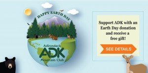 Earth Day 2021 homepage banner