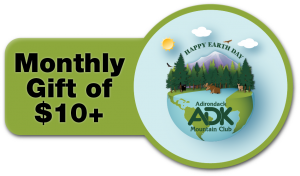 Earth Day Monthly Recurring Gift Button