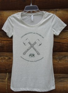 image of men's 40th anniversary trails t-shirt