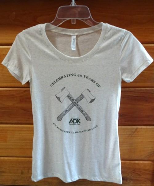 image of women's 40th anniversary t-shirt