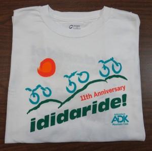 Image of 2016 ididaride t-shirt