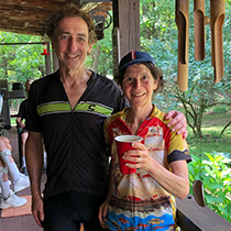 Susan and Dale Marris 55 miles