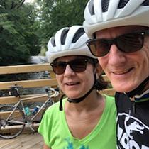 Jim and Sue Litynski 23 miles