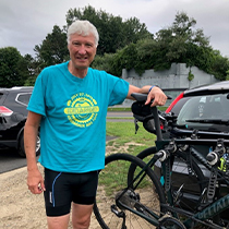 John Higgins 55 miles