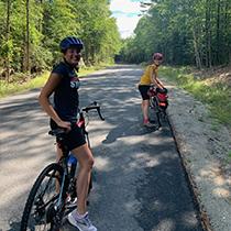 Keiran and Rachel Khanna 55 miles
